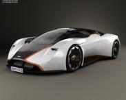 3D model of Aston Martin DP-100 Vision Gran Turismo 2014