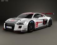 3D model of Audi R8 LMS 2016