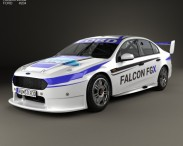 3D model of Ford Falcon (FG) V8 Supercars 2015