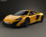 3D model of McLaren 675LT 2014