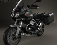3D model of Moto Guzzi Stelvio 1200 NTX 2015