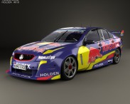 3D model of Holden Commodore VF Supercar 2013