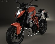 3D model of KTM 1290 Super Duke R 2014