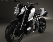 3D model of KTM 990 Super Duke R 2014
