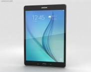 3D model of Samsung Galaxy Tab A 9.7 Smoky Titanium