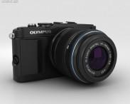 3D model of Olympus PEN E-PL5 Black