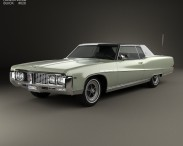 3D model of Buick Electra 225 Custom Sport Coupe 1969