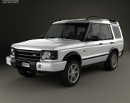 3D model of Land Rover Discovery 2003