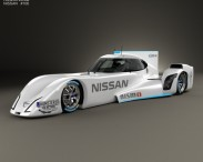 3D model of Nissan ZEOD RC 2014