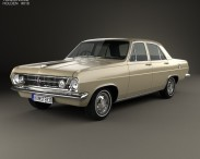 3D model of Holden HR Premier 1966