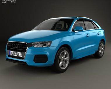 3D model of Audi Q3 2015
