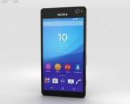 3D model of Sony Xperia C4 Black