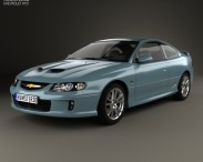 3D model of Chevrolet Lumina SS Coupe 2002
