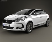 3D model of Citroen DS 5 2015