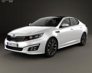 3D model of Kia Optima 2015