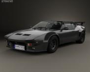 3D model of De Tomaso Pantera GT5-S 1984