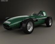 3D model of Vanwall GPR V12 1958