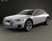 3D model of Audi Prologue Allroad 2015