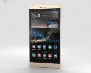 3D model of Huawei P8max Luxurious Gold