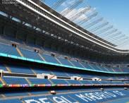 3D model of Santiago Bernabeu Stadium