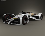 3D model of Chevrolet Chaparral 2X Vision Gran Turismo 2014