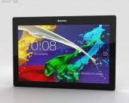 3D model of Lenovo Tab 2 A10-70 Midnight Blue