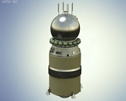 3D model of Vostok 1