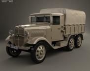 3D model of Isuzu Type 94 Truck 1934