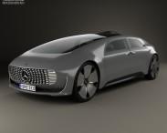 3D model of Mercedes-Benz F 015 2015