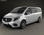3D model of Mercedes-Benz Vision e 2015
