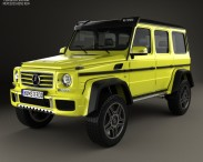 3D model of Mercedes-Benz G-Class 4×4-2 2015