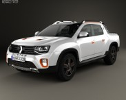 3D model of Renault Duster Oroch Concept 2015