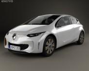 3D model of Renault Eolab 2014
