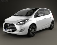 3D model of Hyundai ix20 2015
