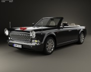 3D model of FAW Hongqi L5 cabriolet 2015