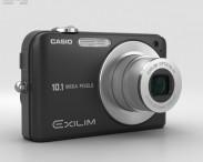 3D model of Casio Exilim EX- Z1050 Black