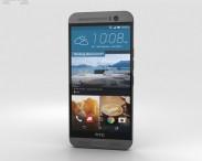 3D model of HTC One M9+ Gunmetal Gray