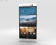 3D model of HTC One M9+ Silver Gold