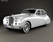 3D model of Jaguar Mark VII 1951