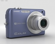 3D model of Casio Exilim EX- Z1050 Blue