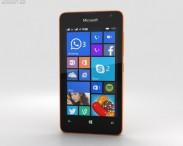 3D model of Microsoft Lumia 430 Orange