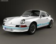 3D model of Porsche 911 Carrera RS Sport (911) 1972