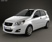 3D model of Suzuki Swift Plus 2008