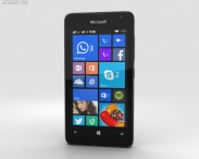 3D model of Microsoft Lumia 430 Black