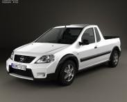 3D model of Nissan NP200 2009