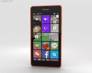 3D model of Microsoft Lumia 540 Orange