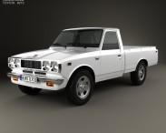 3D model of Toyota Hilux 1972