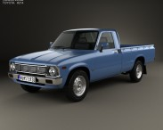 3D model of Toyota Hilux Regular Cab 1978