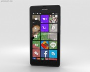 3D model of Microsoft Lumia 540 Black