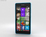 3D model of Microsoft Lumia 540 Blue